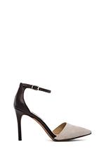 Anibell Heel in White Multi
