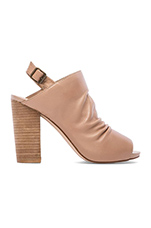 Saliem Heel in Natural Leather