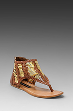 Vega Sandal in Bone Multi