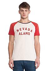 Nevada Alamo Rocker Tee in Red