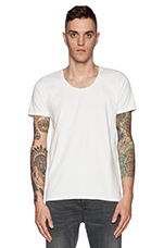 Home Alone Basic Tee in White