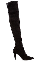 Highstreet Suede Boot in Black