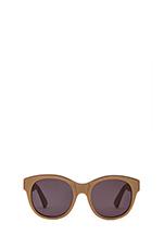 x FASHIONTOAST Paris Sunglasses in Matte Metallic Gold