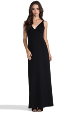 Jil Maxi Dress in Black