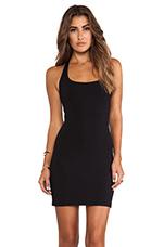 Halter Mini Dress in Black