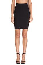 Straight Skirt in Black