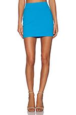 Slim Skirt in Aquamarine