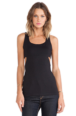 Side Cut-Out Top in Black