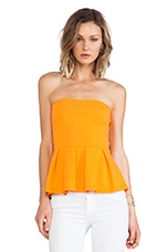 Leila Strapless Top in Popsicle