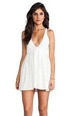 EXCLUSIVE I Live to Kiss Dress in White
