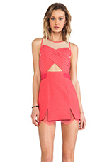 La Femme Dress in Paradise Pink/ Nude