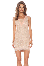 Rookie Dress in Soft Pink & Nude