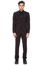 Evert 14 Suit in Dark Plum