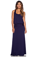 Maxi Dress in Evening Blue