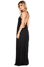Addiction Maxi Dress in Black