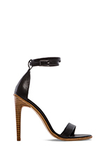 Amber Heel in Black