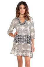 Gina Mini Dress in Ivory
