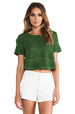 Lena Classic Top in Green