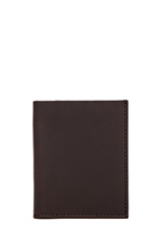 Slim Billfold Wallet in Brown