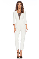 Alaine Jumpsuit in Ivory