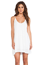 Lily Tank Dress in White