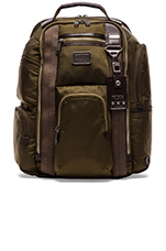 Alpha Bravo Kingsville Deluxe Brief Pack in Olive