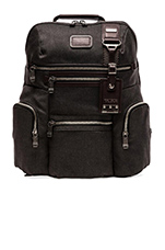 Alpha Bravo Ballistic Nylon Knox Backpack in Anthracite