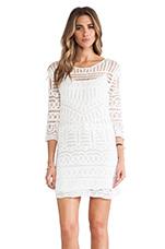 Crochet Dress in White