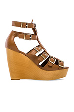 Pacey Gladiator Wedge in Tobacco