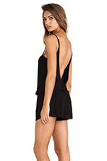 Muse Romper in Black