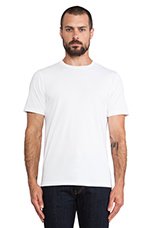 40-Single T-Shirt in White