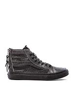 SK8-Hi Slim Zip Sneaker in Black