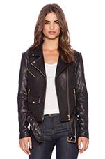 Jayne Jacket in Black & Gold