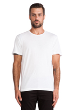 Howard Whisper Classic Tee in White