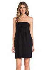 Gauzy Whisper Alia Dress in Black