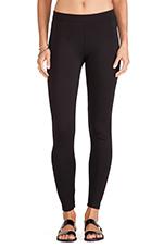 Jillette Ponti Basic Leggings in Black