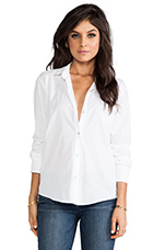 Judd Cotton Voile Shirting in White