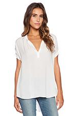 Challis Shirts Chazmin Top in White