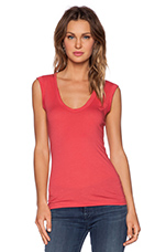 Gauzy Whisper Estina Tank in Kissy