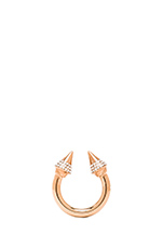 Titan Crystal Ring in Rosegold/Clear