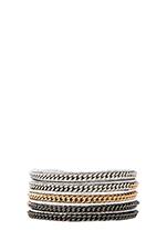 Capri 5 Wrap in Multi & Silver