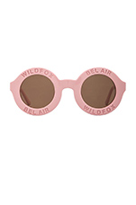 Bel Air Sunglasses in Pink & Brown