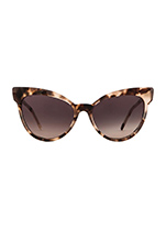Grand Dame Sunglasses in Antique Leaves
