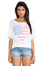 American Beach Party in White