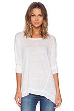 Lux Slub Twisted Easy in White