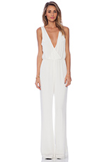 Joey Jumpsuit in White