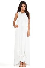 Diamond Maxi Dress in White