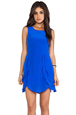 Petal Dress in Cobalt