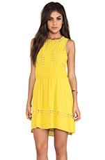 Diamond Mini Dress in Sunshine