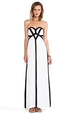 Midas Maxi Dress in White